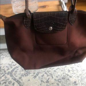 Brown Medium Longchamp Bag